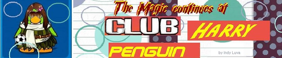Club Harry Penguin - Club Penguin Cheats, Harry Potter News by Frangipani42