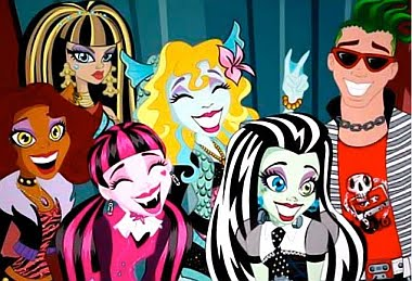 Monster High,assustadoramente fabuloso!
