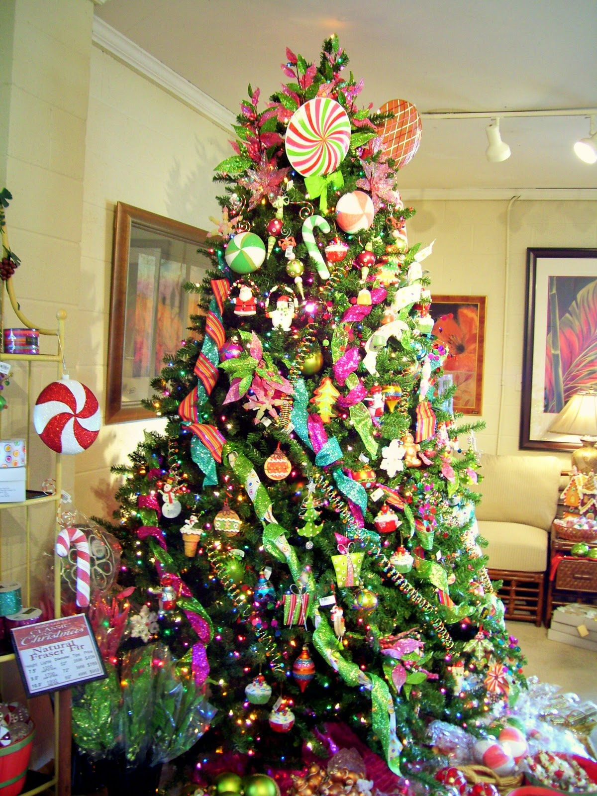 sugarplum christmas tree decorating ideas