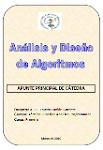 Apunte de Análisis y Diseño de Algoritmos