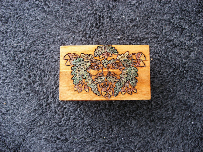 Oak King Trinket Box