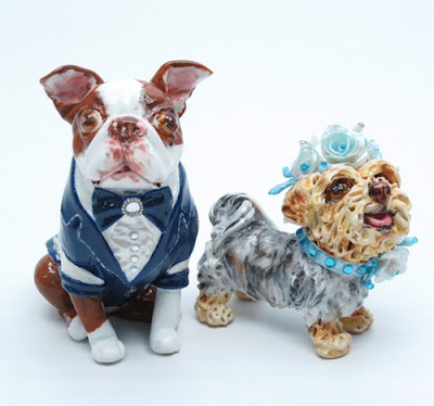 Madamepommcustomorder Chunk And Tink Boston And Yorkie