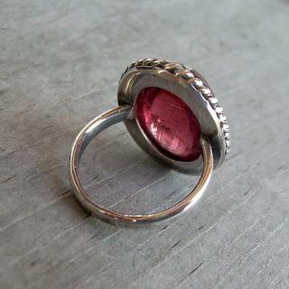 big tourmaline ring
