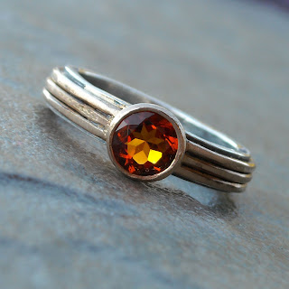 fair trade citrine ring