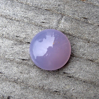 holly chalcedony cabochon