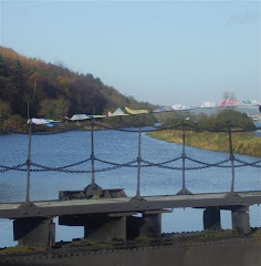 Flags at the Lock Gates, Co. Armagh
