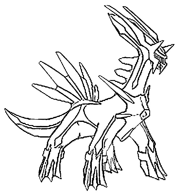 Pokemon Coloring Pages Palkia ; Pokemon Coloring Pages Palkia . palkia  title=