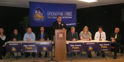 speakers at Operation Free event in Sioux Falls, SD