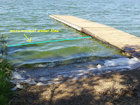 boat ramp, Lake Herman, SD