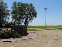 Orland School marker, 451st and 241st, SD
