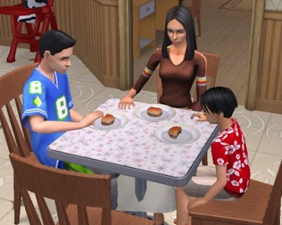 Atina Kids Just Eat Your Food And Ignore Dads Evilness From