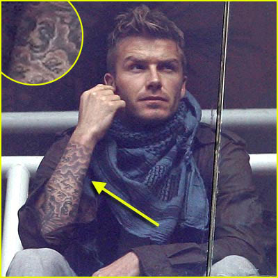 David Beckham Tattoo Sleeve
