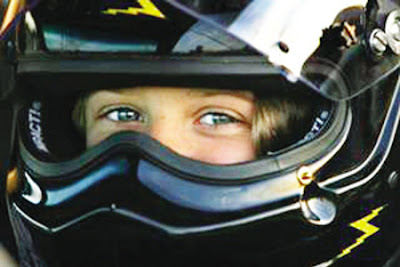 World Youngest Stock Car Racer Stephanie Beane