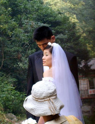 Yao Ming-Ye Li Wedding photos