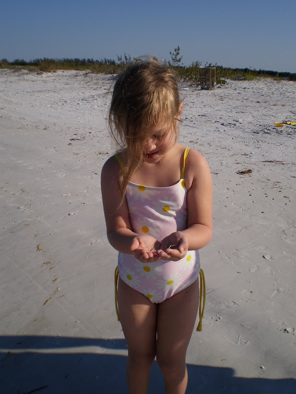 Here's Hannah in a one-piece bathing suit at age 4. This was my old  title=