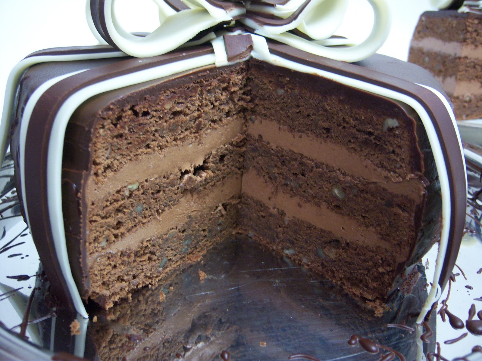 Thyme In Our Kitchen: Spiced Chocolate Torte Wrapped in ...