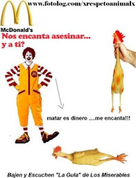 NO COMAS EN MC DONALD