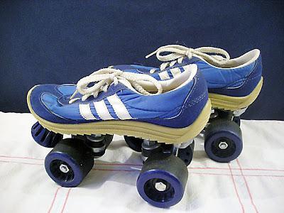 vintage goodness 1 0 i found some vintage roller skates