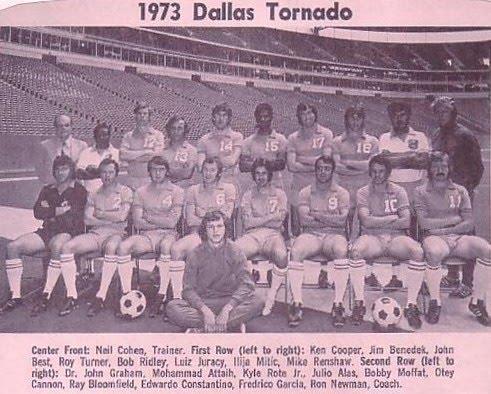 DALLAS TORNADO 1973