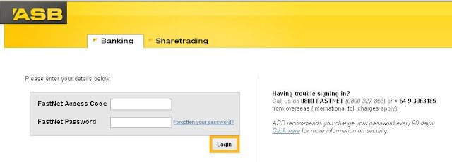 Login to asbbank.co.nz for ASB Internet Banking Online