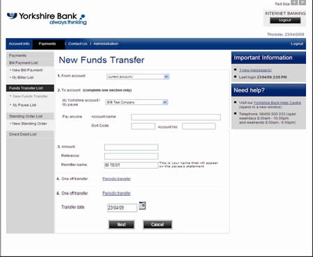 Account Bank America Online Banking
