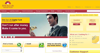 Birla Mutual Fund : How to Access Nav & online account statment?