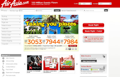 AirAsia Online Ticket Booking Guide