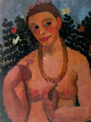 Modersohn Becker+Self Portrait  Half naked+with+Amber+Necklace+1906 Bellator FC 2011 tryouts in New Jersey