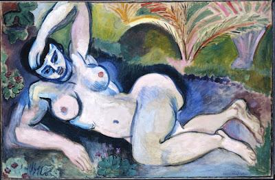 Henri Matisse, Blue Nude: Memory of Biskra (Nu bleu: Souvenir de Biskra), ...