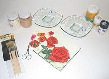 Mis costuritas como decorar platos con servilletas de papel - Como decorar una servilleta de papel ...