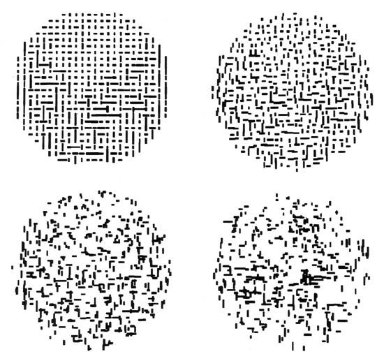 Line Composition Design : South bend seven origins of computer art