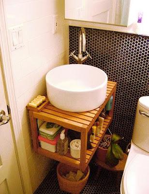 Banco Ikea Baño: Accesorios y muebles de baño rústicos para darle ...