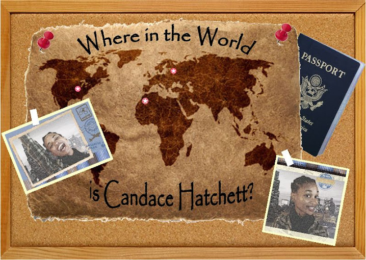 Where in the World is Candace Hatchett?