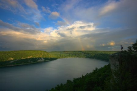 The amazing devil&#39;s lake state park