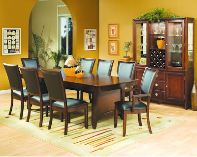 Dinning Chairs on Luxury Home Furniture   For Dining Room With Leather On Chairs