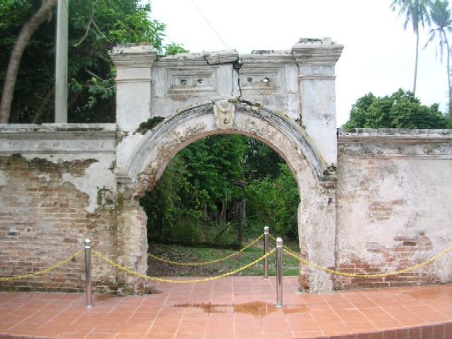 Entrance to Raja Merong Mahawangsa Fort