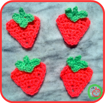 Crochet - Assorted - Strawberry Fields Afghan