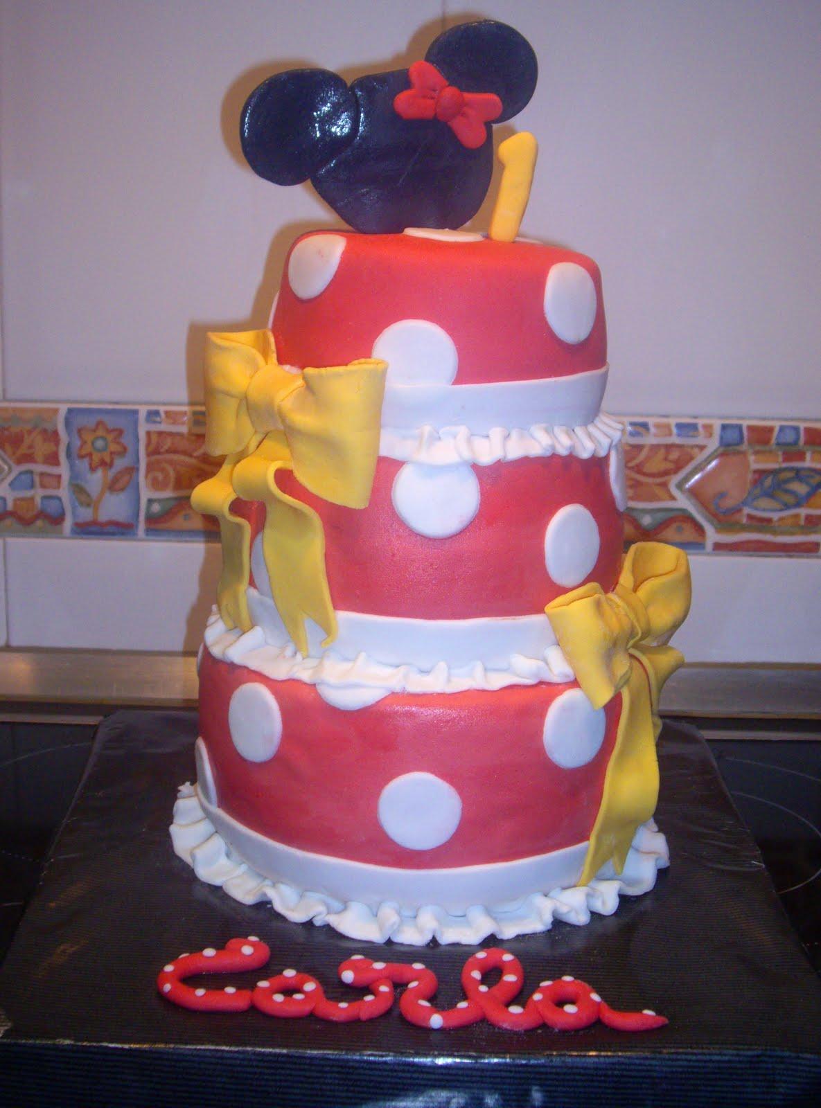 Segunda Tarta Minnie Mouse