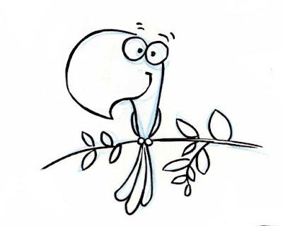 Resultado de imagem para o papagaio  responde cartoon