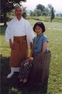Shingon Master Tanaka & his wife