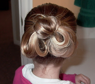 Little Girl's Hairstyles – Hair Bow Hairdo