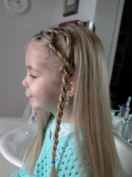 little girl hairstyles side