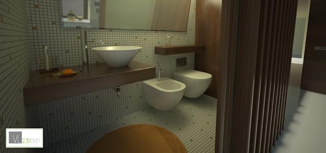 Vl2punto3design rendering professionali modellazione 3d for 6 piani di camera da letto 6 bagni