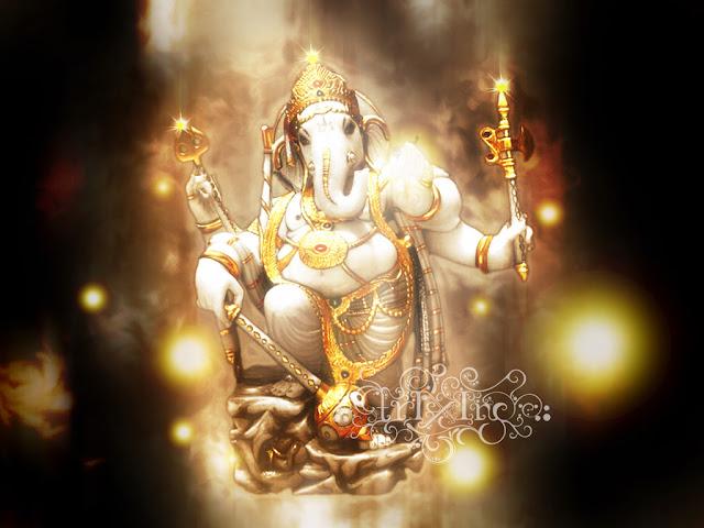 Ganesh Wallpapers, Full screen wallpapers of Ganesh, Hindu God Ganesha