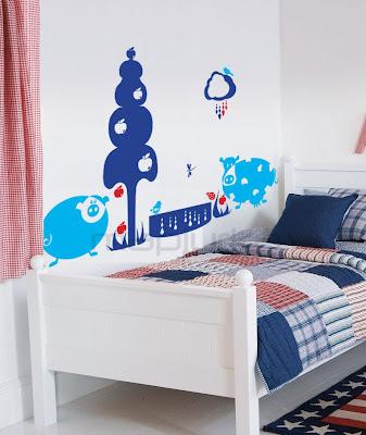 Mapiurka adhesivos decorativos ba murales infantiles en for Murales adhesivos