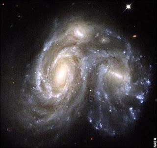 galaxias colision