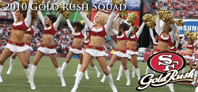 The Cheer Locker San Francisco 49ers Gold Rush
