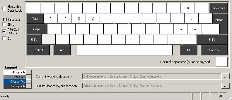 Technical Notes Windows Custom Keyboard Layouts Englsih German
