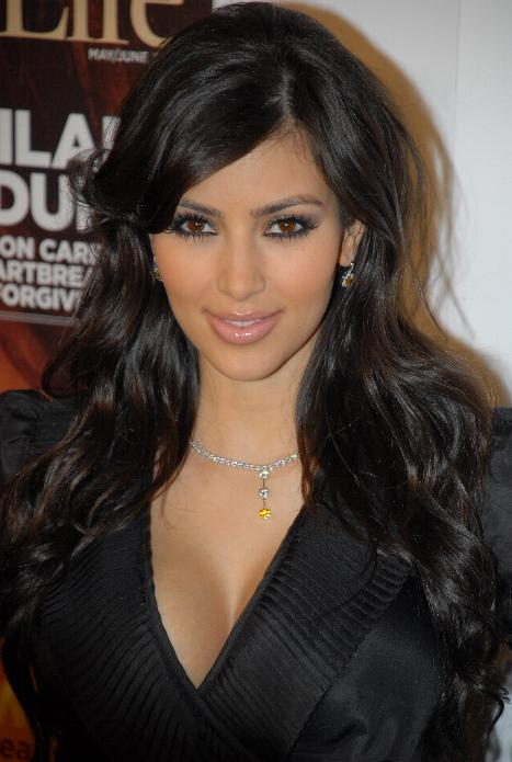 kim kardashian hairstyle. kim kardashian hairstyles for