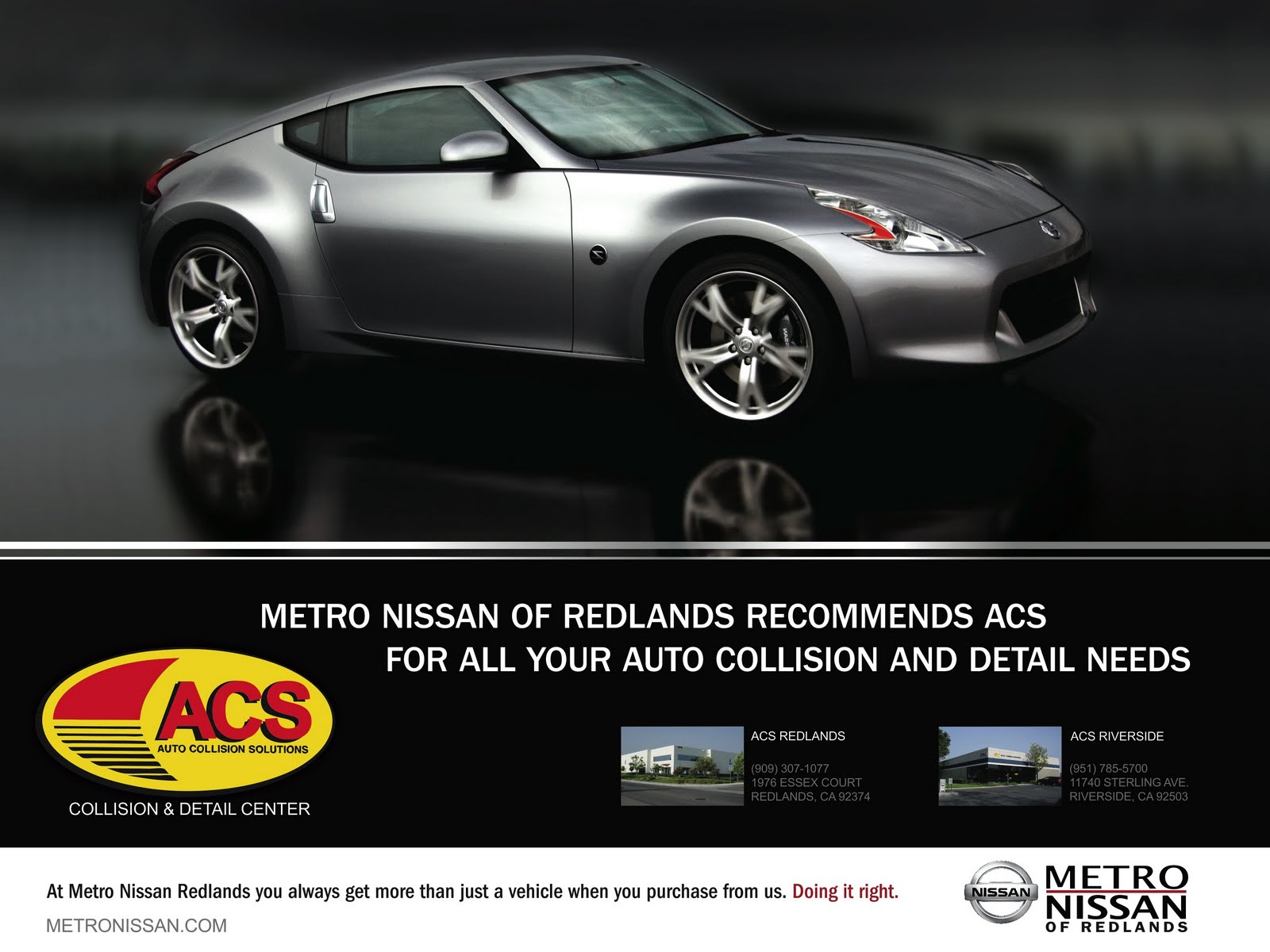 ACS And Metro Nissan Poster